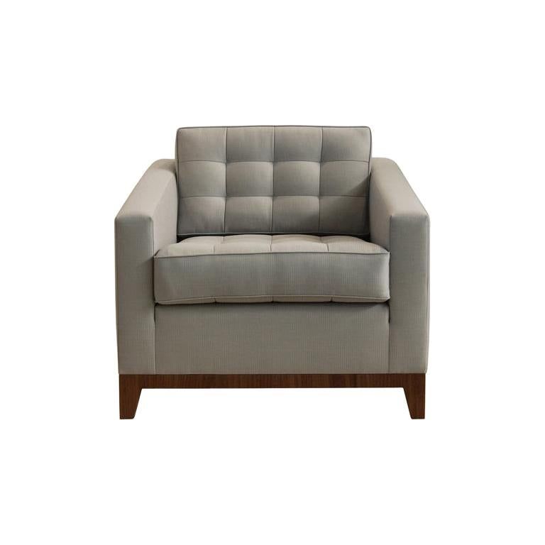 Eden Chair Tufting Loose Back and Seat Cushion