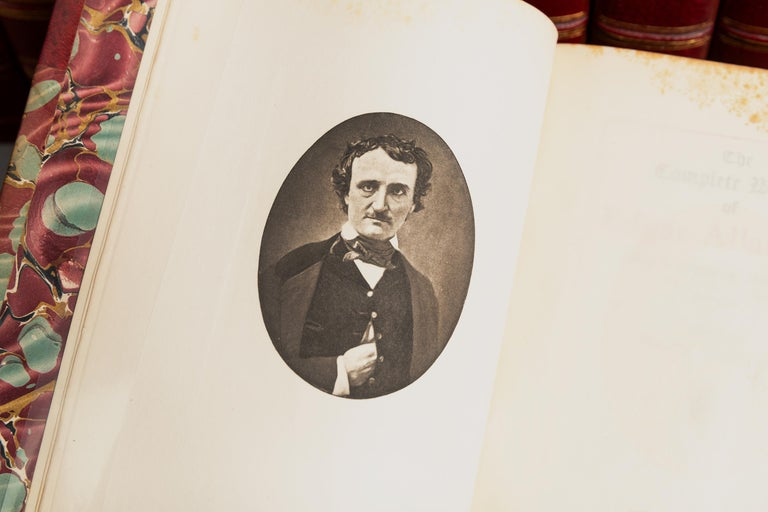 Edgar Allan Poe, Complete Works In Good Condition For Sale In New York, NY