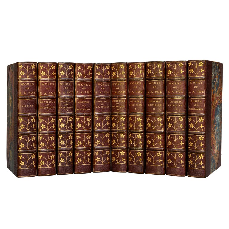 Edgar Allan Poe, The Works In Good Condition For Sale In New York, NY
