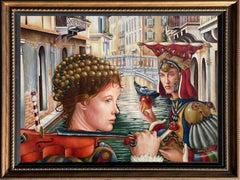 Edgar Barrios ** Adomeitis Temptation **Original Oil On Canvas