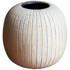 Edgar Böckman, Vase, Glazed Stoneware, Artists Studio, Stockholm, Sweden, 1930s