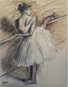 Danseuse a la barre
