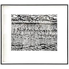 Edgar Dorsey Taylor Woodblock Print, 1959