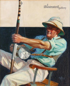 Deep Sea Fisherman, Saturday Evening Post Cover