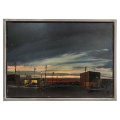 """Edgar O. Kiechle, #309, """"Dusk"""" Painting"""