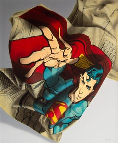 """Edgar Vazquez, """"Superman"""", Pop art, Figurative, Realistic"""