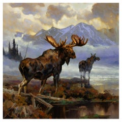 """""""Edge of the Mist"""" Original Oil Painting by Greg Parker"""