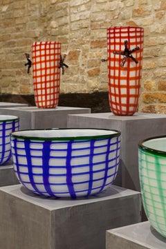 Edie Bowl in Murano Glass by Elena Cutolo (Euro)