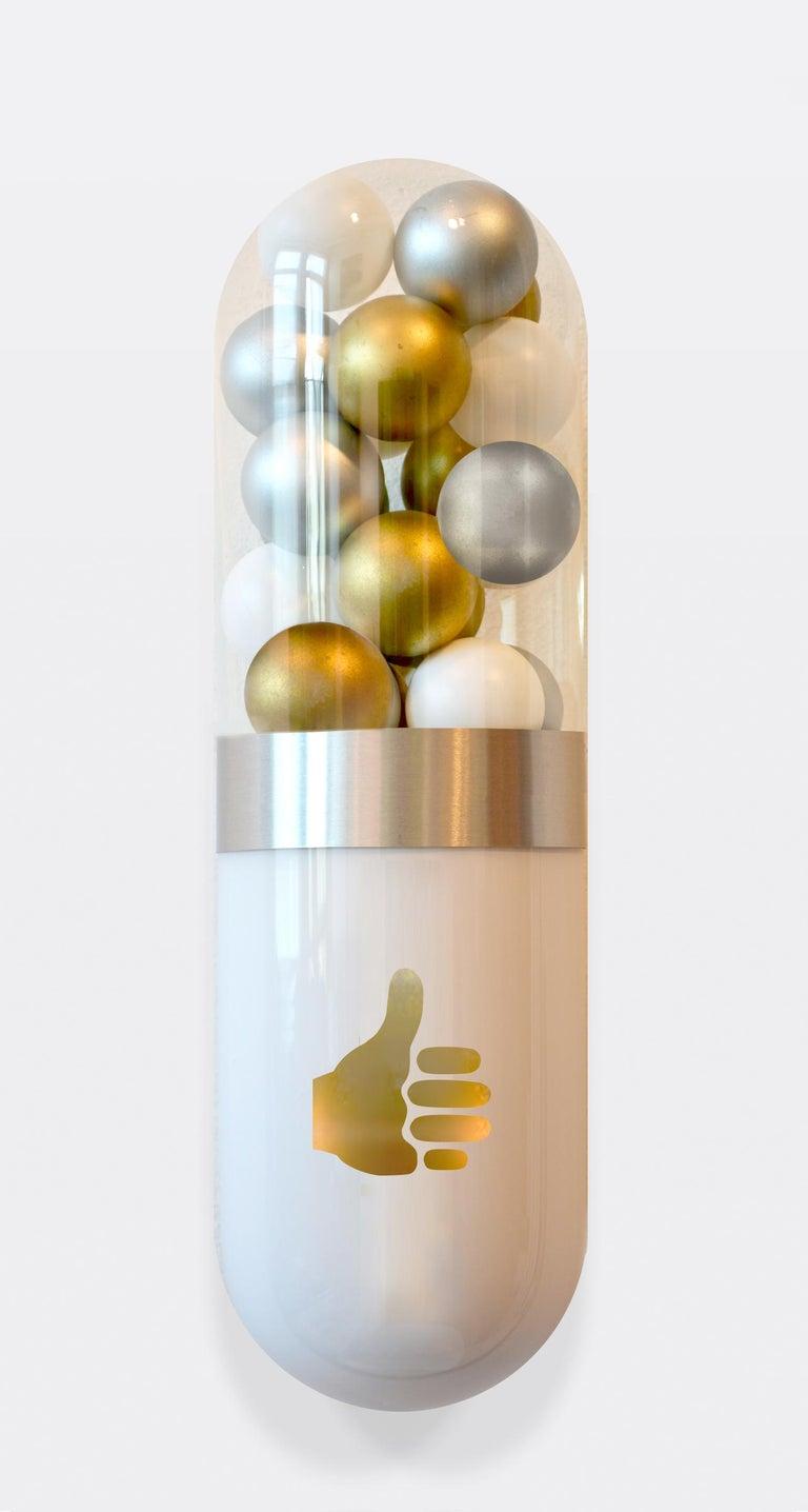 Better Living Thru Chemistry: Precious Social - Contemporary Sculpture by Edie Nadelhaft
