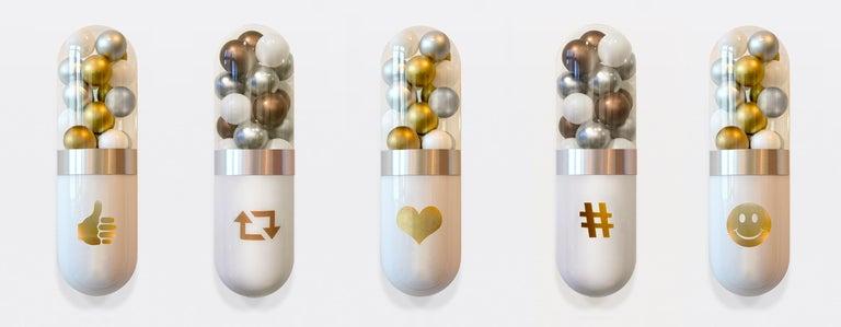 Edie Nadelhaft Still-Life Sculpture - Better Living Thru Chemistry: Precious Social