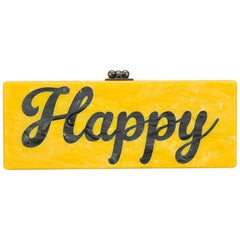 Edie Parker 'Happy' Box Clutch