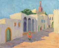 'Rue de la Casbah, Tangier, Morocco', Rockport, Massachusetts Woman Artist, PAFA