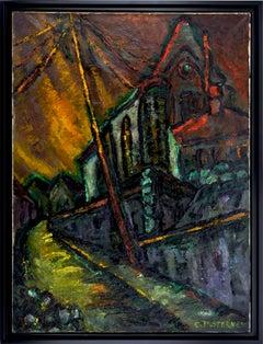 Edith Desternes, The Church Notre-Dame de l'Assomption in Auvers-sur-Oise, 1920s