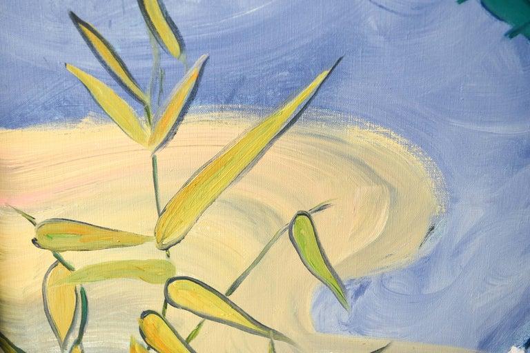 Edith Goldman Modern Oil on Canvas For Sale 4