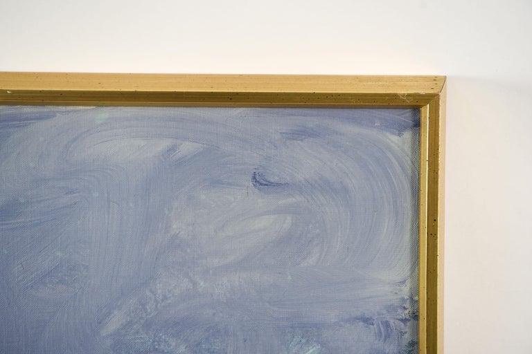 Edith Goldman Modern Oil on Canvas For Sale 6