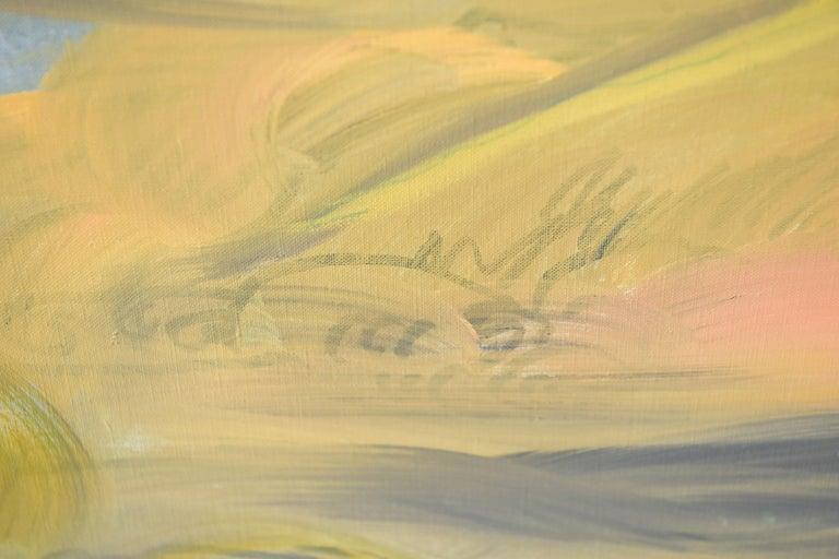 Edith Goldman Modern Oil on Canvas For Sale 7