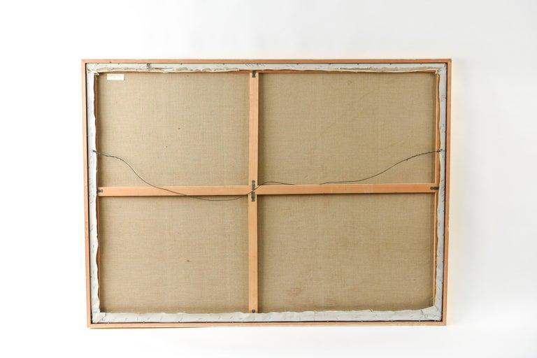 Edith Goldman Modern Oil on Canvas For Sale 8