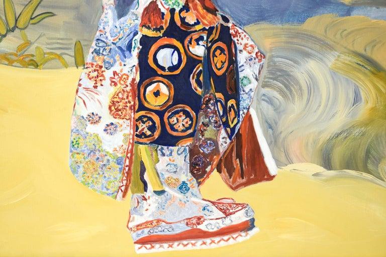 Edith Goldman Modern Oil on Canvas For Sale 3