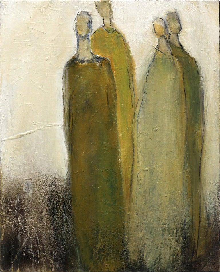 2311 - Mixed Media Art by Edith Konrad