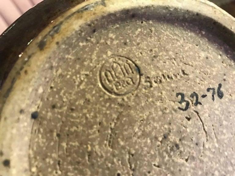 Edith Sonne Bruun Lidded Ceramic Vessel/ Bowl for Bing & Grøndahl, Denmark For Sale 4