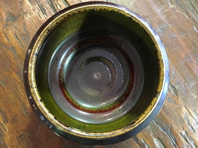 Edith Sonne Bruun Lidded Ceramic Vessel/ Bowl for Bing & Grøndahl, Denmark For Sale 1