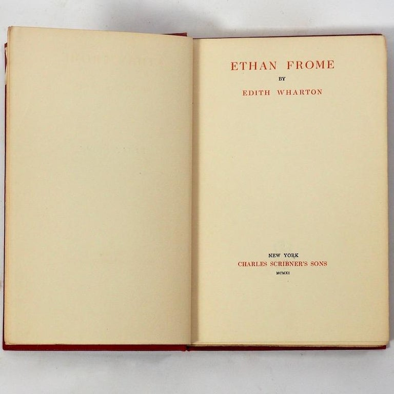 American Edith Wharton, Ethan Frome, First Edition First Issue, 1911 For Sale