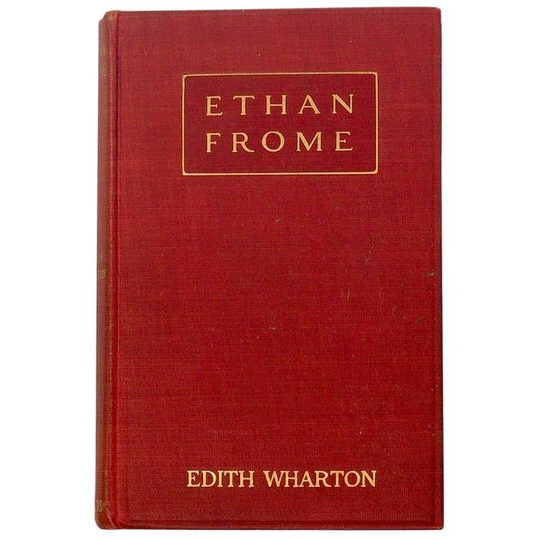 Edith Wharton, Ethan Frome, First Edition First Issue, 1911 For Sale