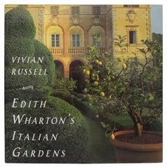 """""""Edith Wharton's Italian Gardens Decorative"""" Book"""