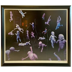 Edition Photo Lithograph by Sandy Skoglund 'Maybe Babies' Signed Numbered