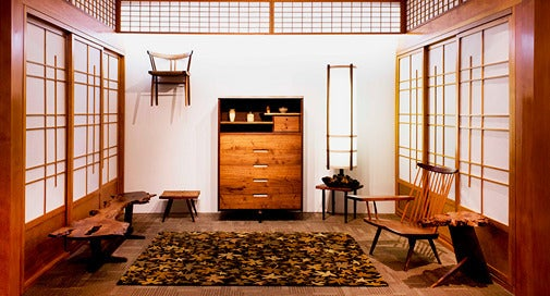 George Nakashima Saw Wood As No One Else Could