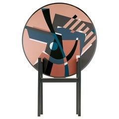 Edizioni Zabro Table Chair by Alessandro Mendini