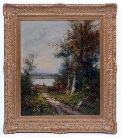 19th century painting Landscape