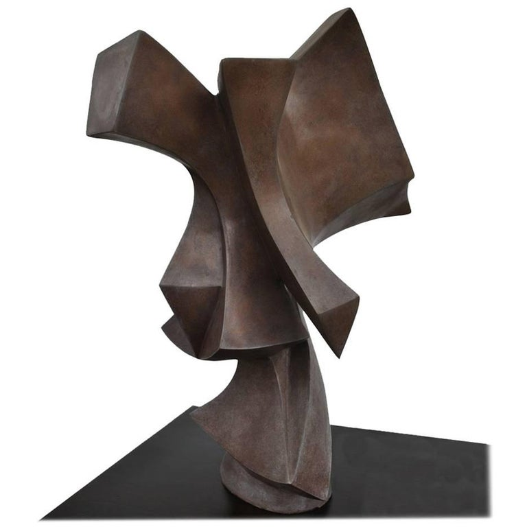 Edmond Casarella Soaring Sculpture on Pedestal Base   For Sale