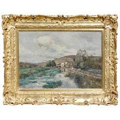 Edmond Marie Petitjean French Landscape Painting