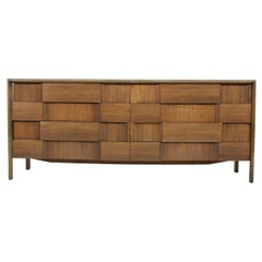 Edmond Spence Long Eight-Drawer Dresser, 1950s