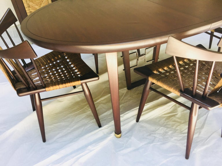 Edmond Spence Mahogany Dining Table Designed for Industria Mueblera, circa 1958 For Sale 2