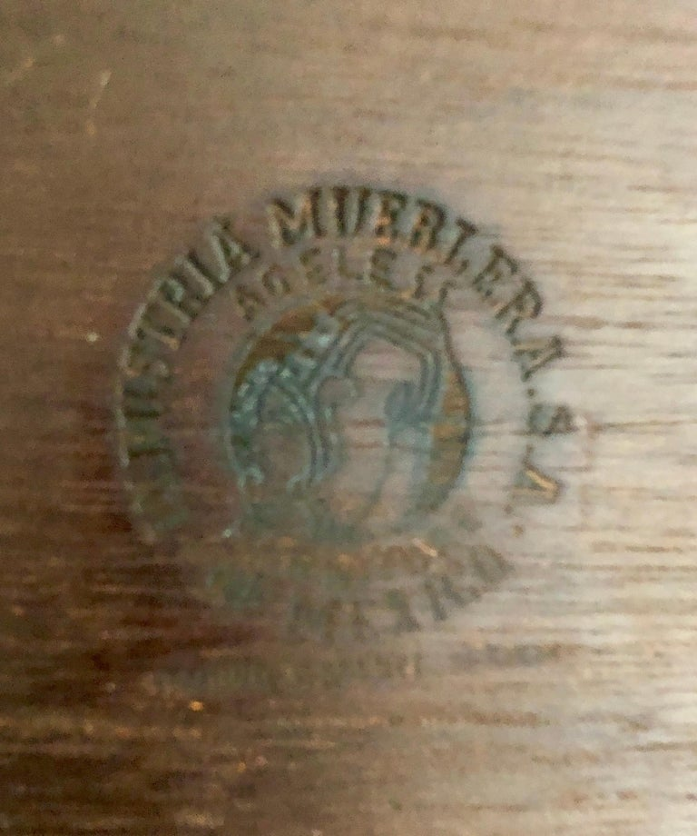 Edmond Spence Serving Cart for Industria Meublera For Sale 6
