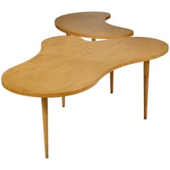 Edmond Spence Two-Part Dining Table in Birch