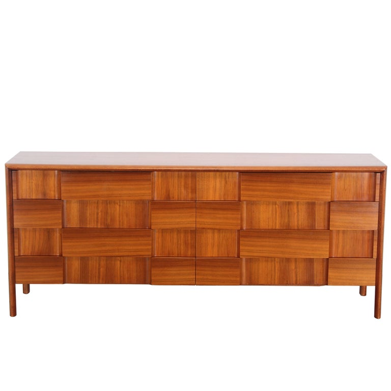 Edmond Spence Walnut Dresser, 1960s