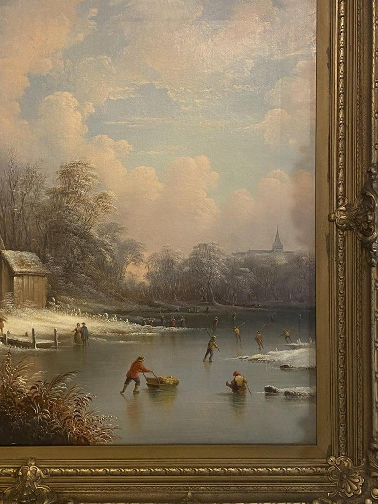 Edward C. Coates, American 1816-1871 - Painting by Edmund C. Coates
