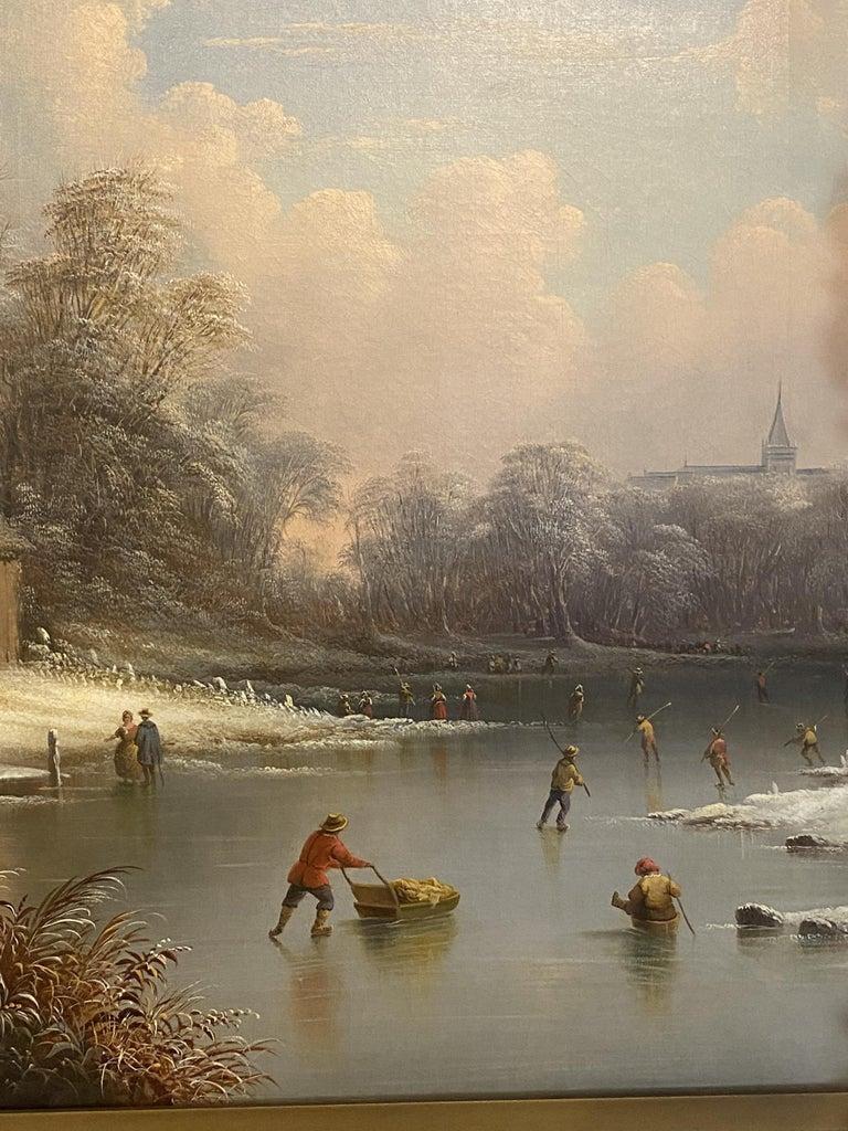 Edward C. Coates, American 1816-1871 - Romantic Painting by Edmund C. Coates