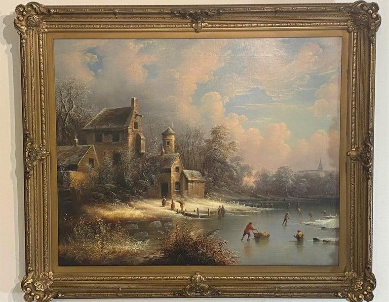 Edmund C. Coates Landscape Painting - Edward C. Coates, American 1816-1871