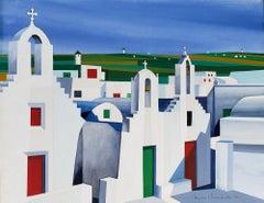 Mykonos Church Landscape