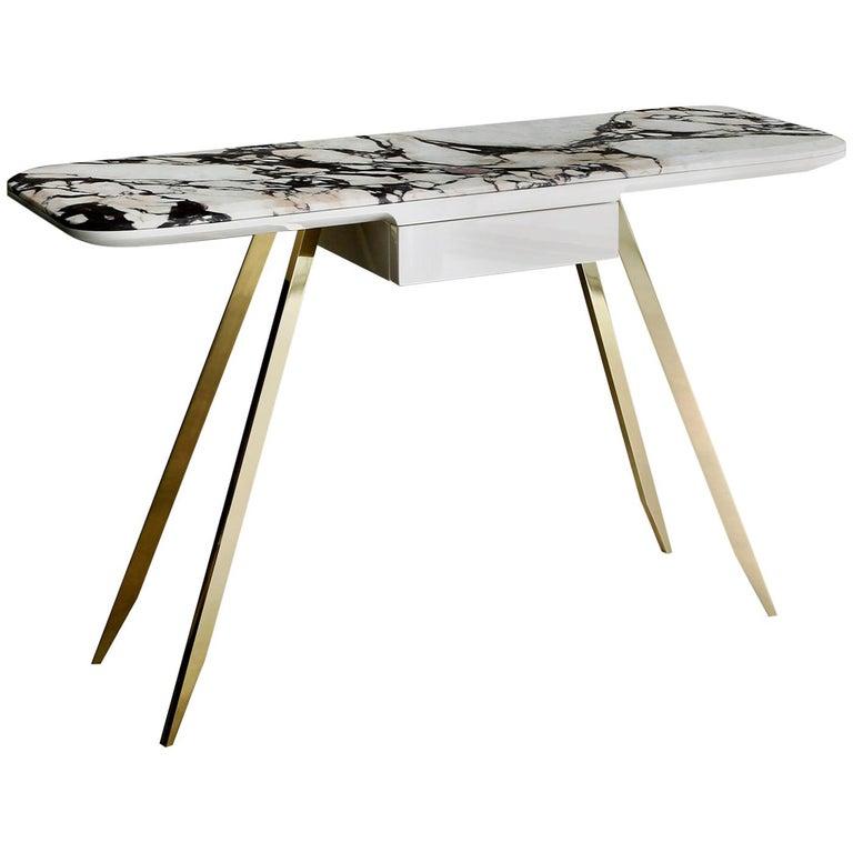 Edo Golden Desk by Bosco Fair For Sale