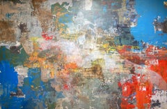 Another's Mode - 21st Century, Contemporary, Figurative-Abstract Portrait, Print
