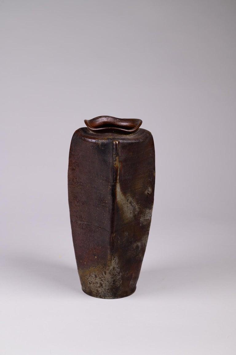 Japanese Edo Period Bizen Vase For Sale