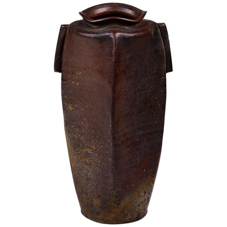 Edo Period Bizen Vase For Sale