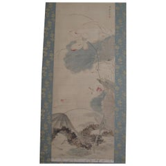 Edo Period Scroll on Silk