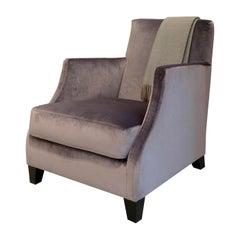 Edo Purple Armchair