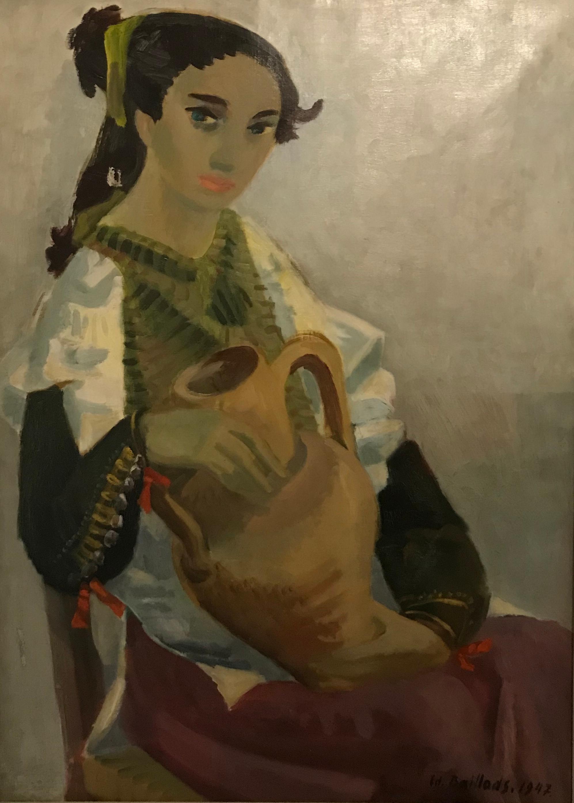 Femme à la cruche - Woman with the pitcher